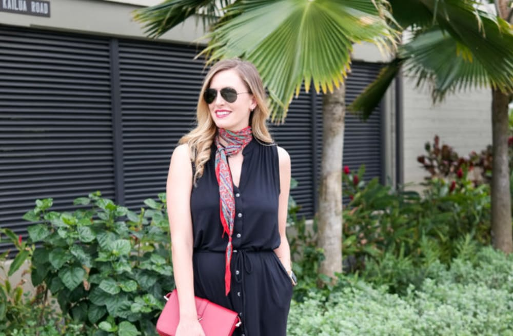 de7d06dbe Street style tip of the day: Black shirtdress - AOL Lifestyle