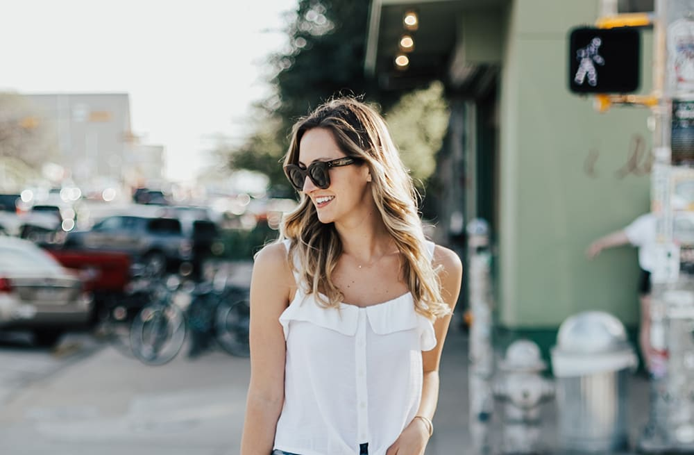 cc841bd407c1a7 Street style tip of the day: Spring denim - AOL Lifestyle