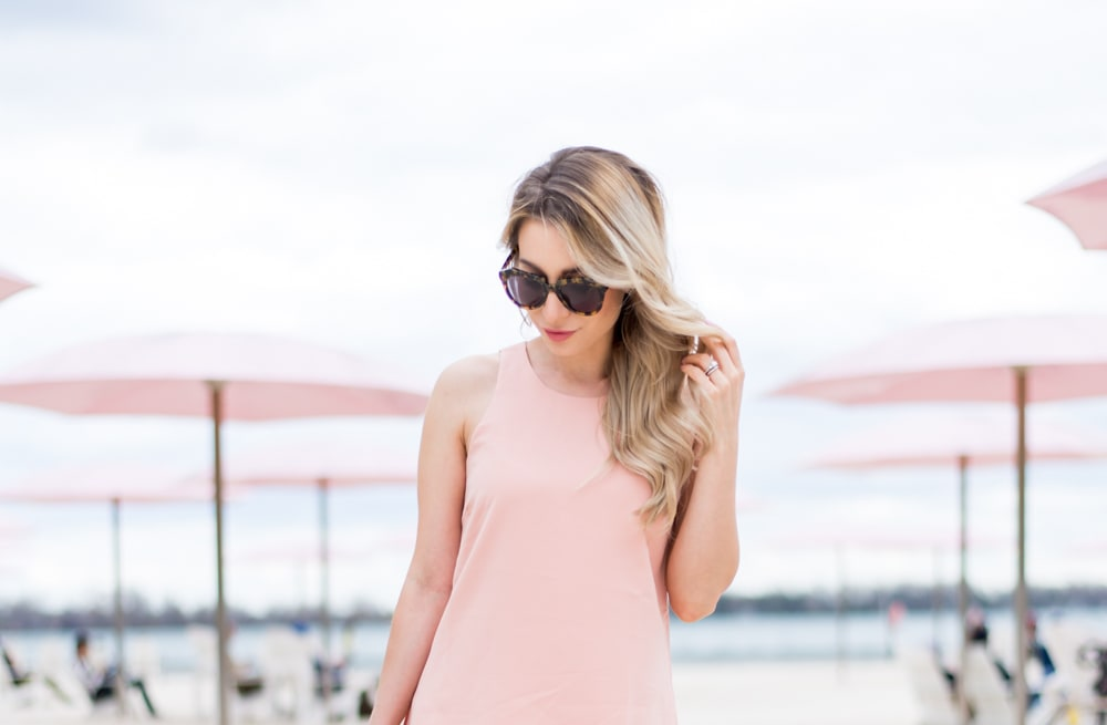 e27f27f362c Street style tip of the day  Blush pink dress - AOL Lifestyle