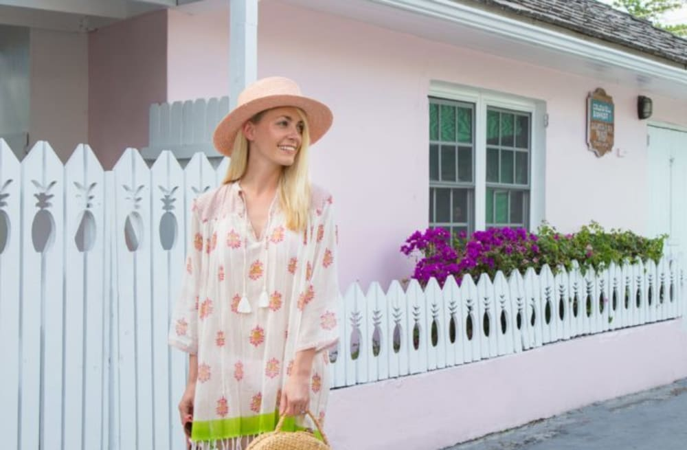 80eab199016 Street style tip of the day  Blush pink hat - AOL Lifestyle