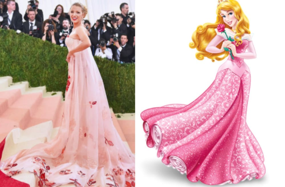 all the times blake lively looked like disney princesses from