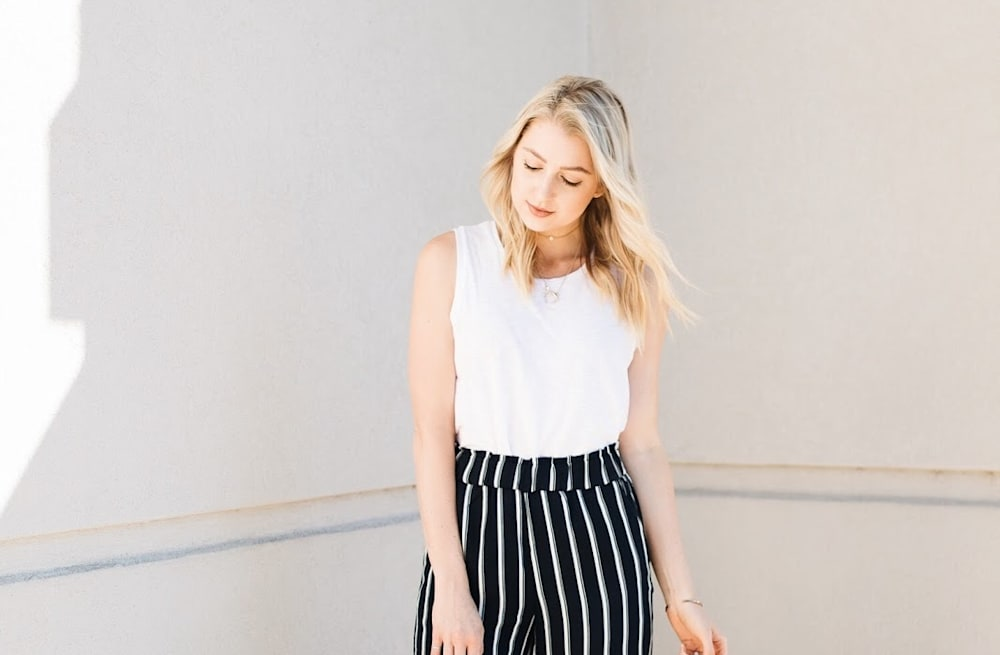 f2b97555c96a6d Street style tip of the day: Striped culottes - AOL Lifestyle