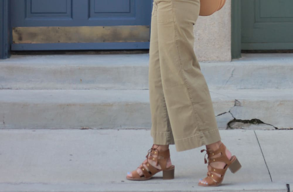 86463adfea4bf5 Street style tip of the day: Wide leg cropped pants - AOL Lifestyle