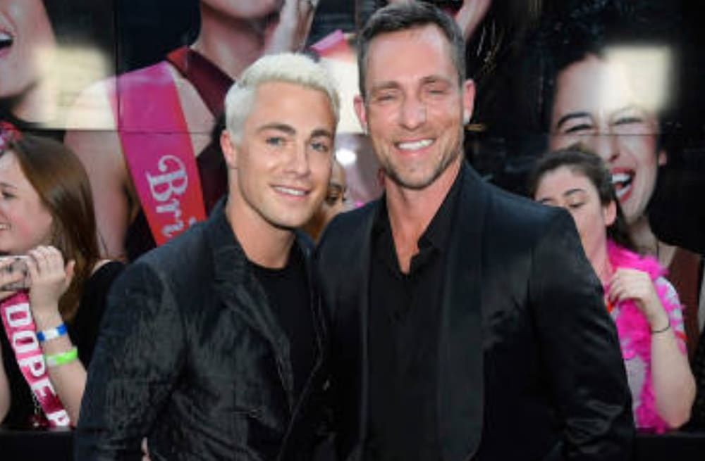 colton haynes and jeff leatham are working on things following