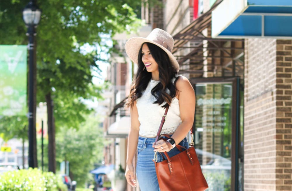 d149cbbba13 Street style tip of the day  Panama hat - AOL Lifestyle