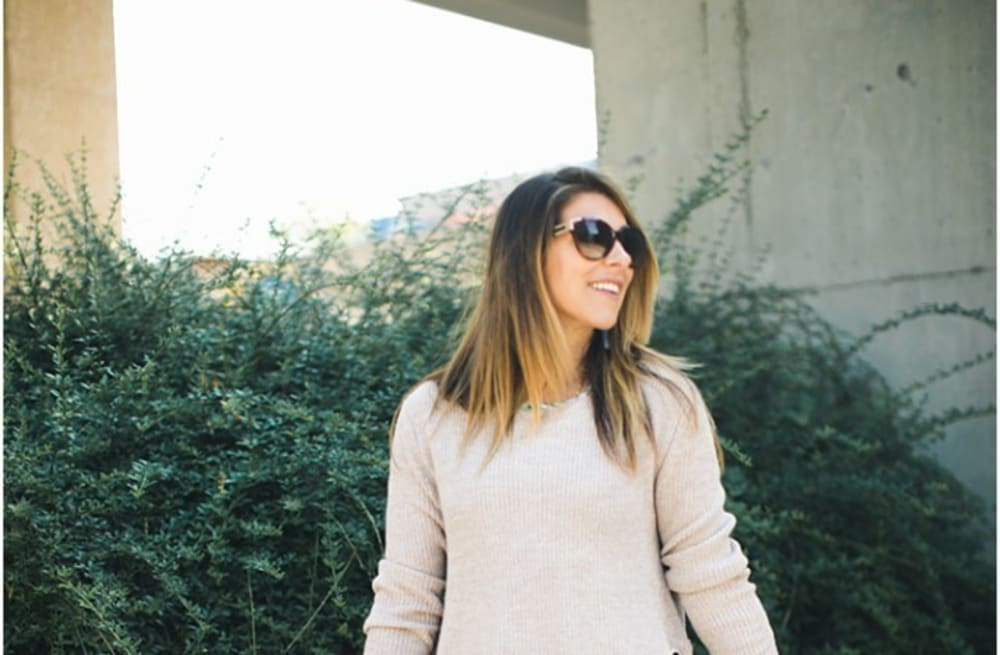7bdd3dbc8d6ce7 Street style tip of the day: Summer sweater - AOL Lifestyle