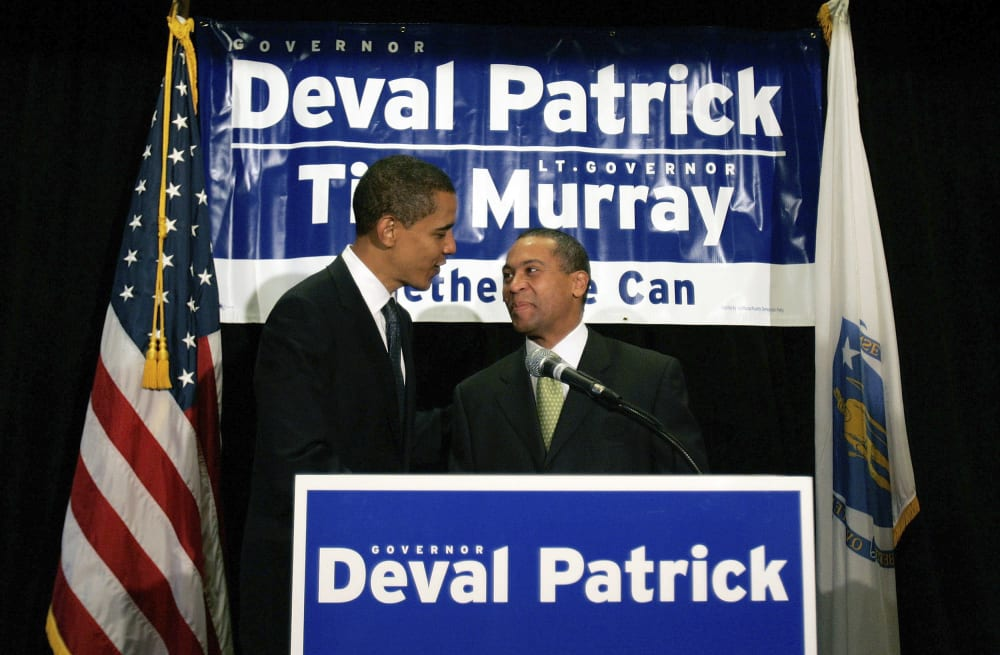 Obama And Allies Reportedly Encouraging Ex Governor Deval Patrick To