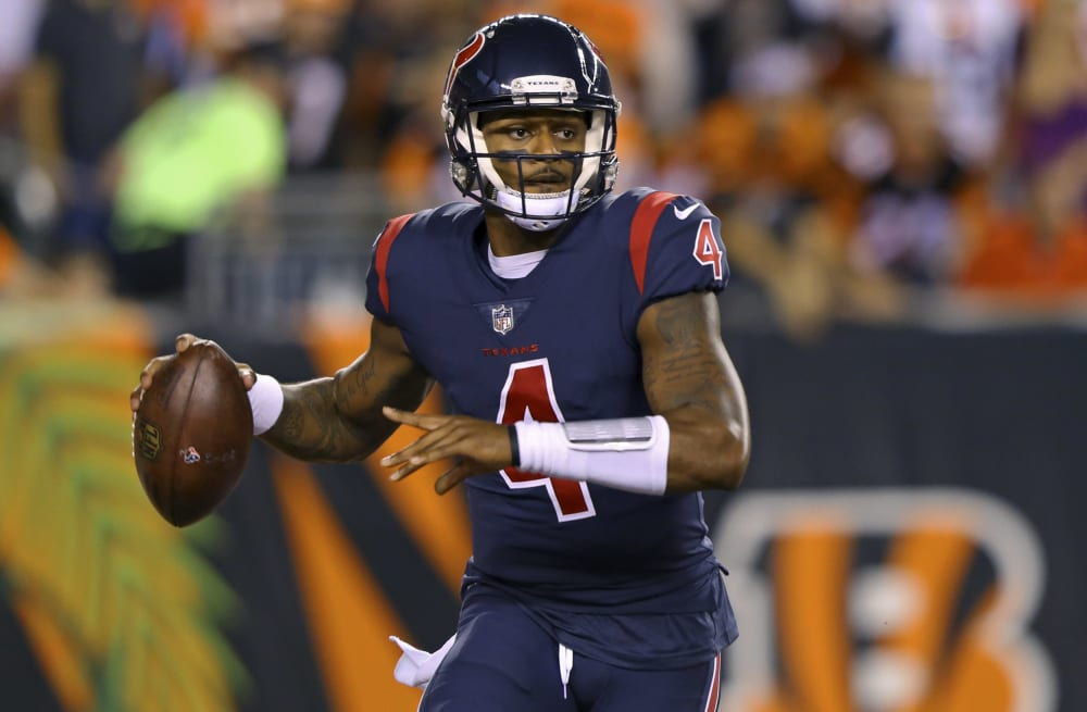 Slideshow preview image. 11 PHOTOS. Houston Texans quarterback Deshaun  Watson cb8547ab9