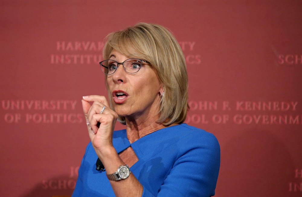A Commentary By Betsy Devos Tolerating >> Devos Low Expectation For Students With Disabilities Must End Aol