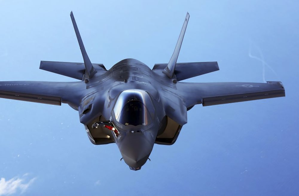 The US Marines F-35 squadron is training to fight through nuclear