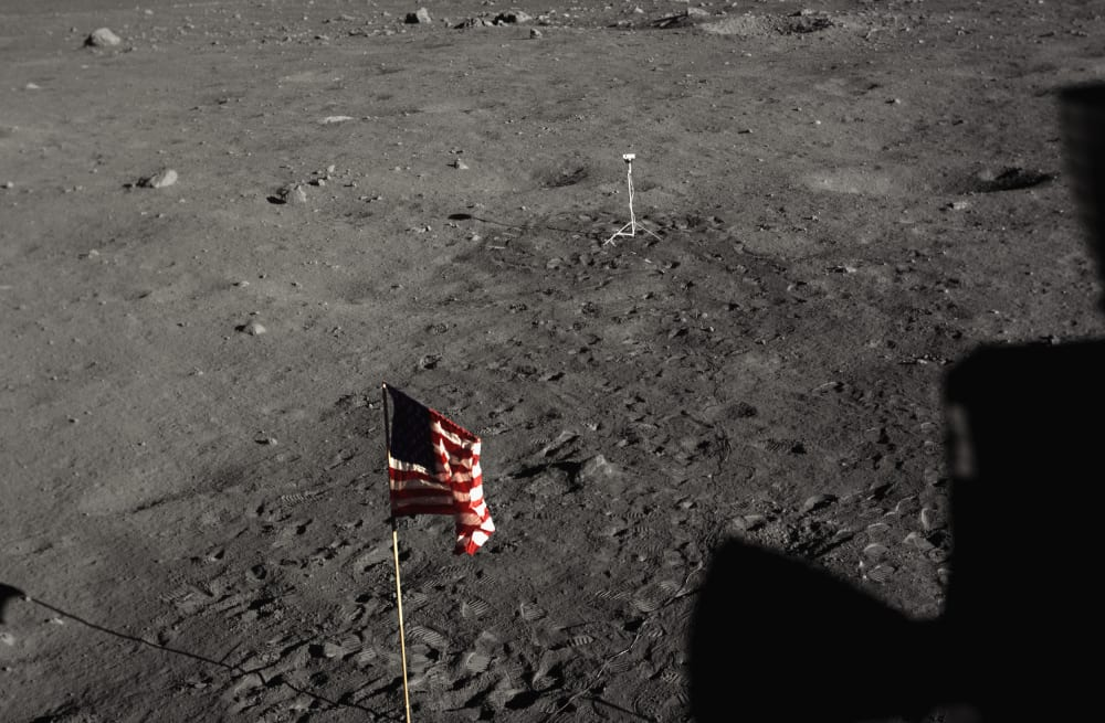 New Conspiracy Theorist Claims To Have Proof Apollo Moon Landing Was