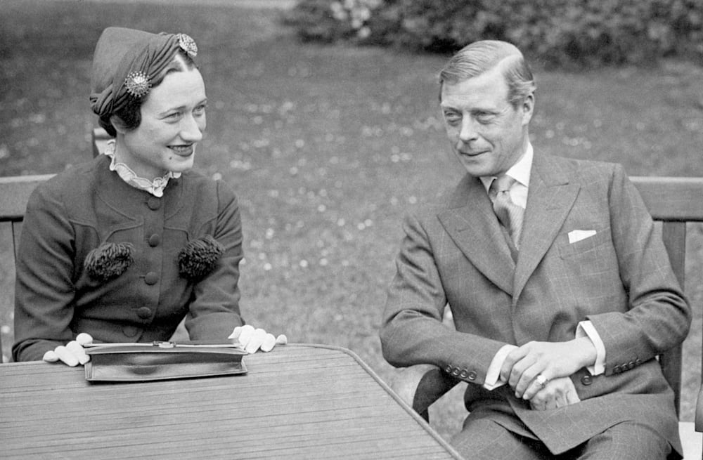Wallis Simpson reportedly left King Edward VIII on his deathbed for