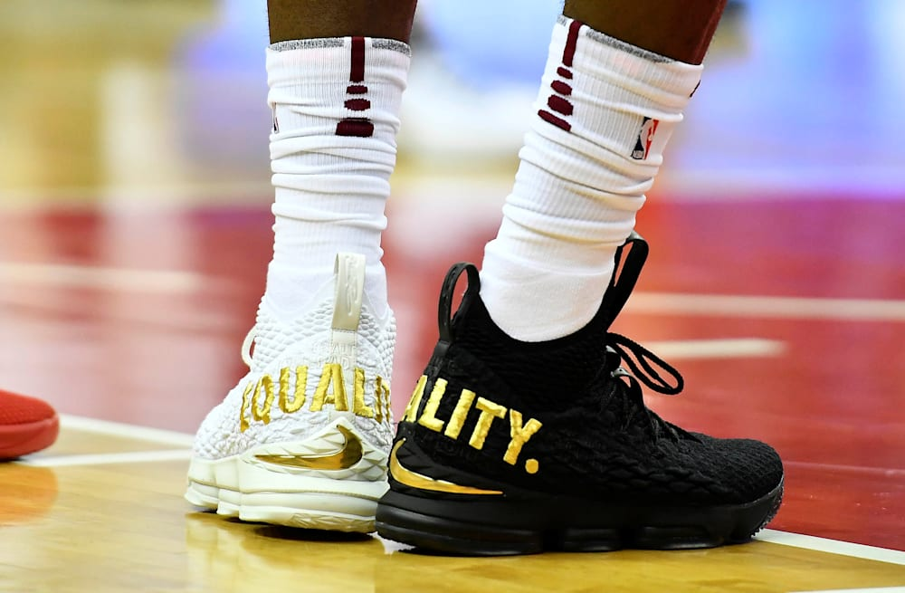 4d251af483ef0 LeBron James  EQUALITY shoes were a repudiation of President Trump ...