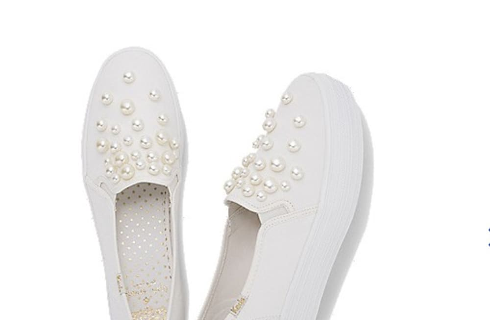 6a620e0b804 This Keds X Kate Spade collaboration is every modern bride s dream ...