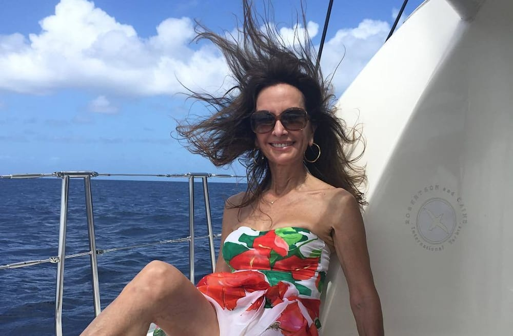 9cc22c430355f Susan Lucci, 71, hits Barbados looking a fraction of her age in a ...