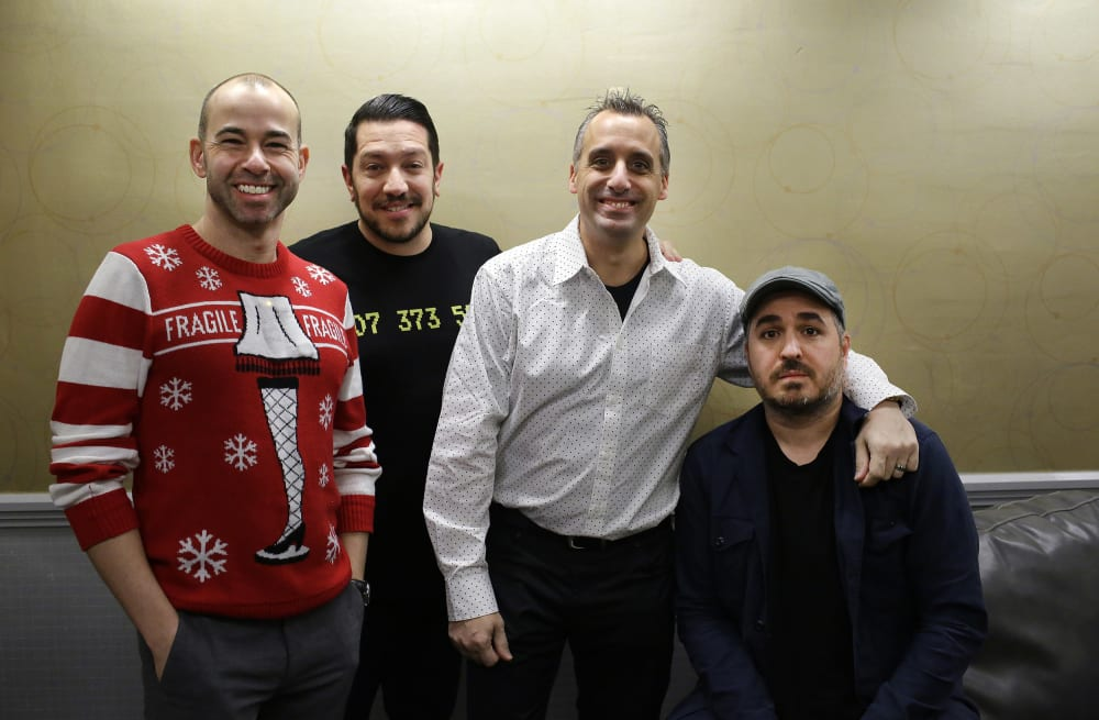 The impractical jokers on how they keep their hit tv show authentic slideshow preview image m4hsunfo