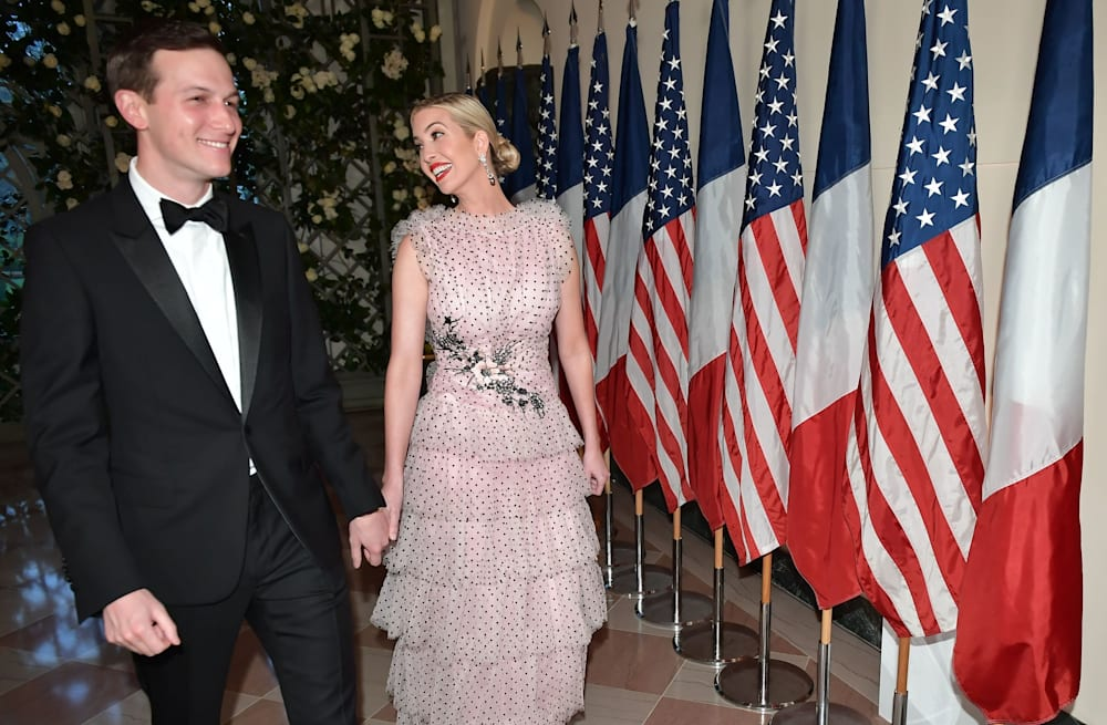 Ivanka Trump wears $12,888 polka-dot gown to state dinner - AOL ...