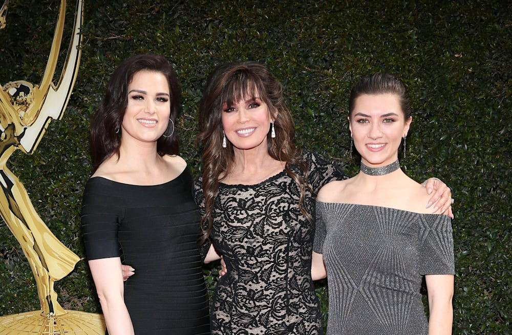 marie osmond brings stunning daughters as her dates to the 2018