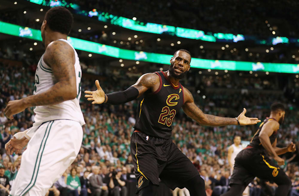 9c38106ad80d Celtics reveal why Kyrie Irving wasn t at Game 7 vs. Cavs - AOL News