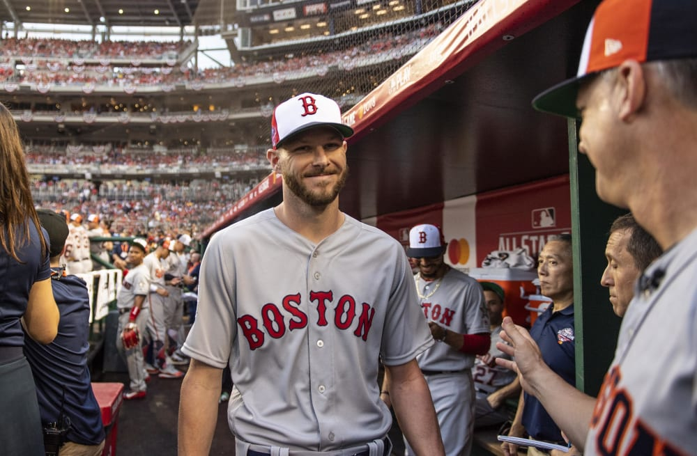 19978420499 Poll: Red Sox ace Chris Sale is front-runner to win the American ...