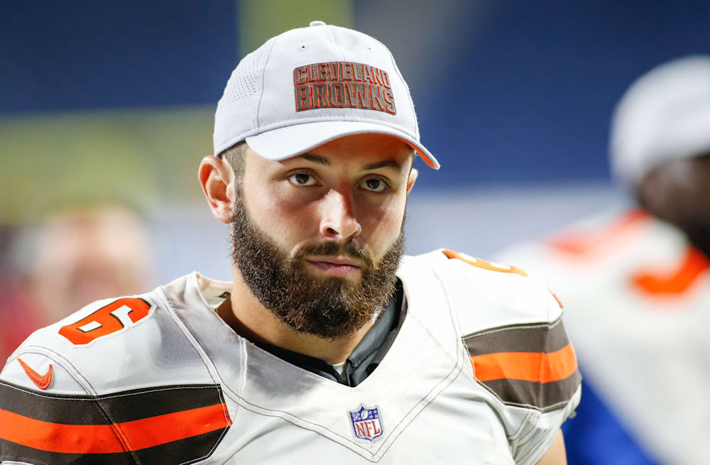 436ee3d3664 Browns QB coach: Baker Mayfield 'has a long way to go' after strong ...