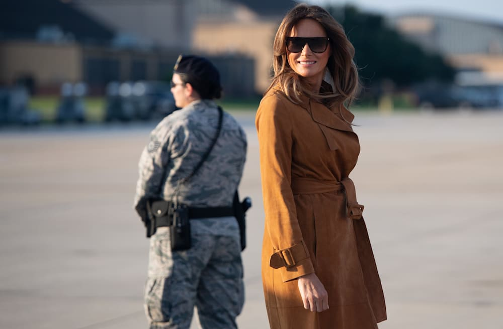 4fe69d4361 Analyzing what Melania Trump wore during her four-nation African ...