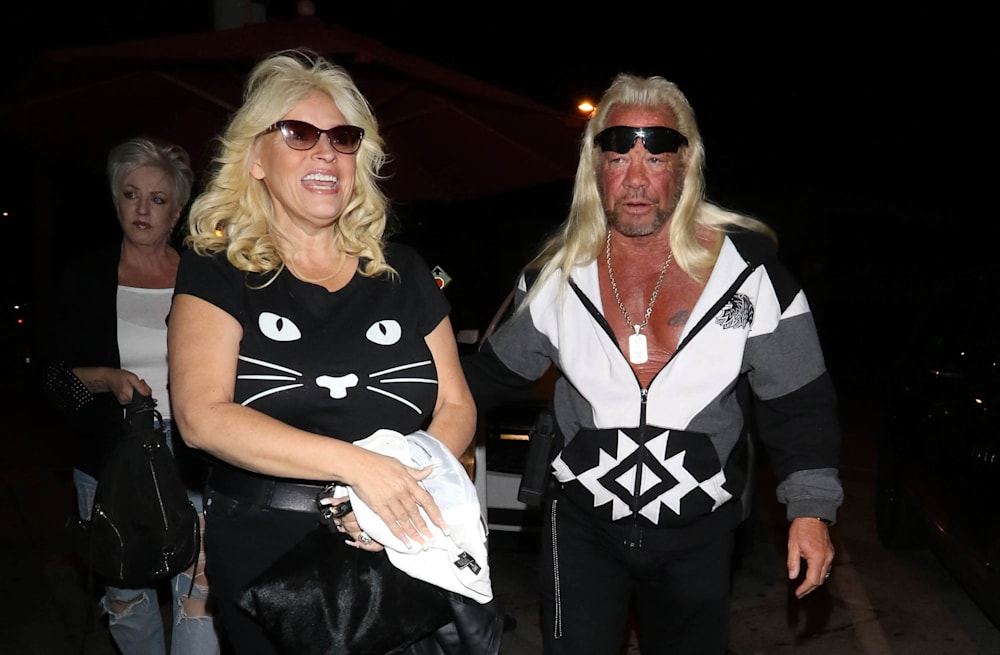 4ab55d4524f15 Dog the Bounty Hunter  star Beth Chapman hospitalized  It s  life or ...