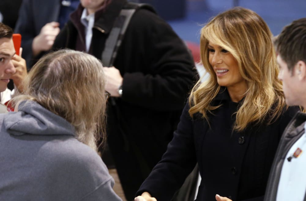 Melania Trump Has A New Blonde Look And Twitter Has Thoughts When