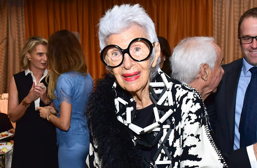 Accidental Icon' Iris Apfel signs with big-time modeling