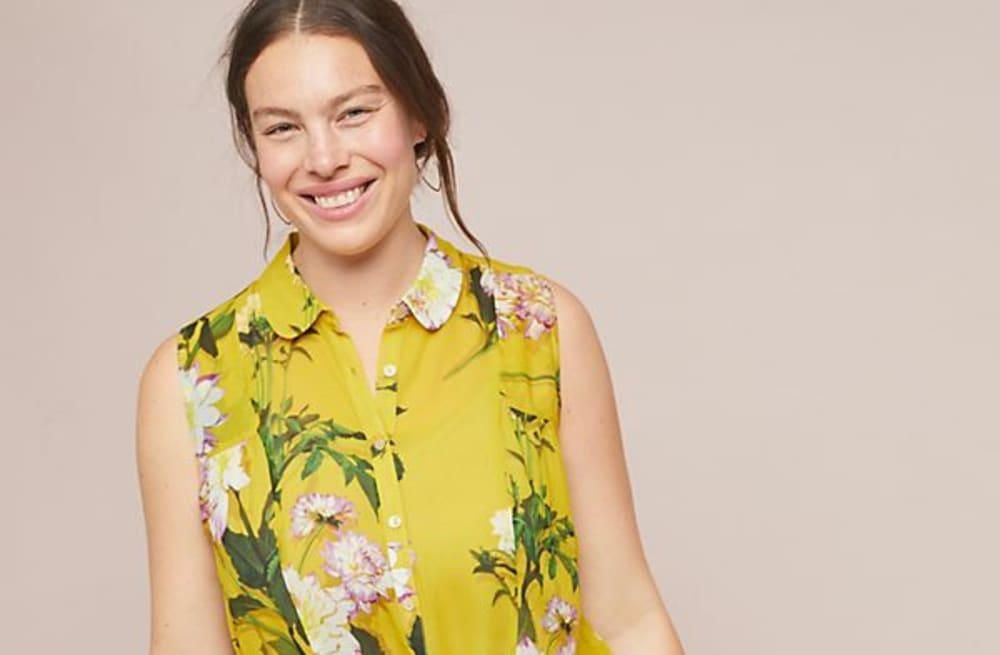 8cb1735e9fb0b0 Anthropologie s plus size collection is a springtime dream - AOL ...