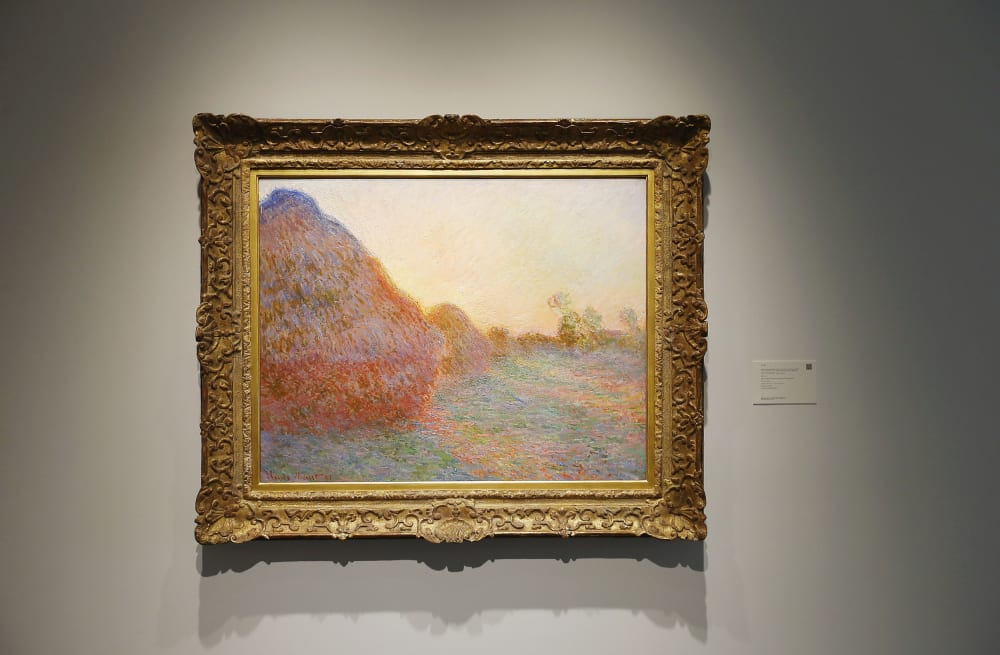 Monet's 'Haystacks' sells for record $110 7M at auction