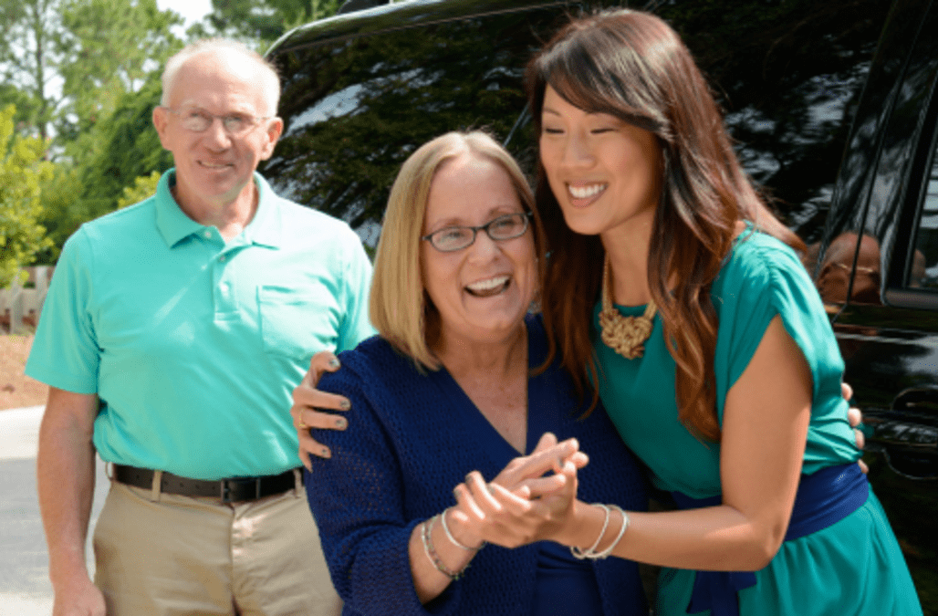 HGTV Smart HomeSM 2013 Winner Accepts Keys to Her New Piece of