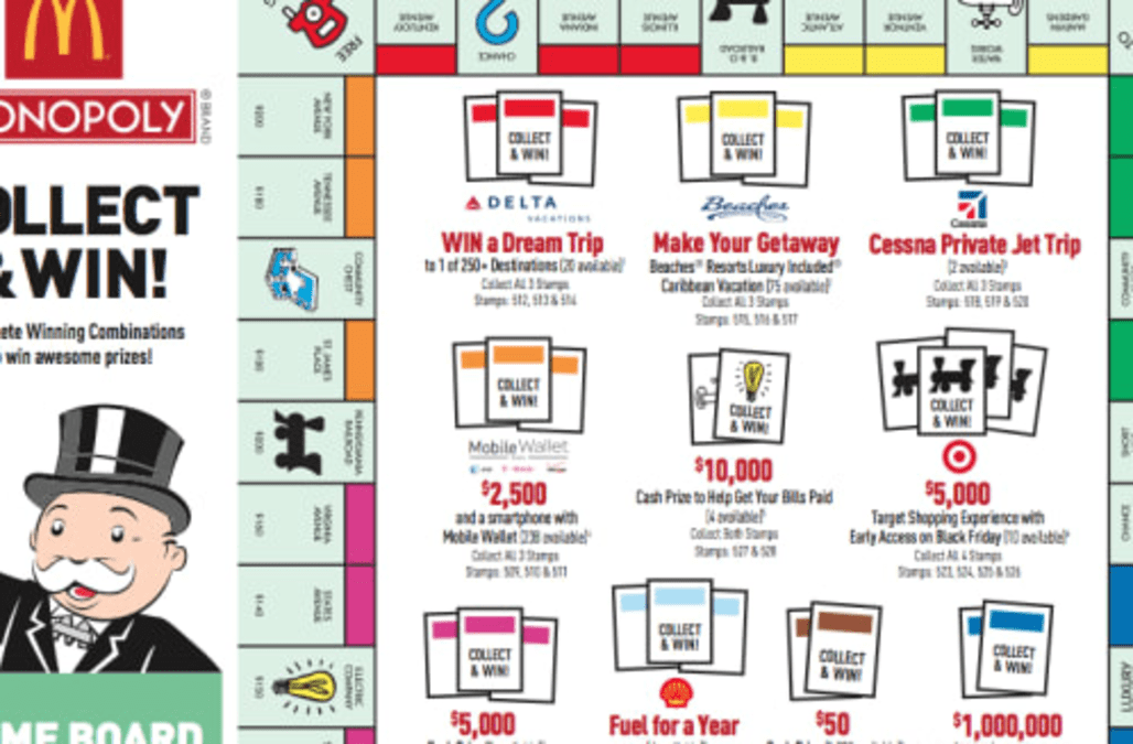 5 Things You Didn T Know About Mcdonald S Monopoly Game