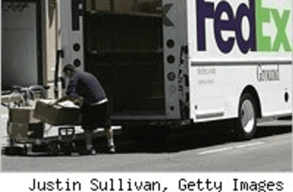 a day in the life of a fedex driver aol finance