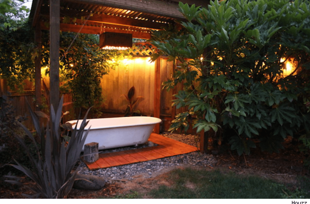 Use a Salvaged Tub to Turn Your Backyard Into a Soothing Oasis - AOL ...