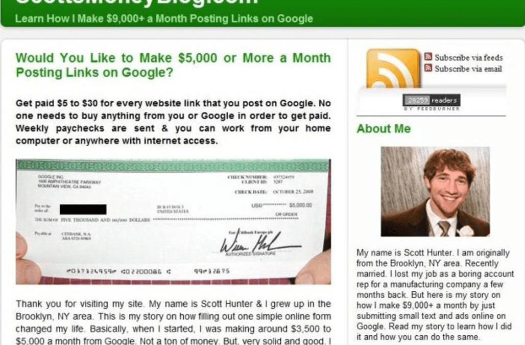 Save yourself from the latest 'Google' scam - AOL Finance