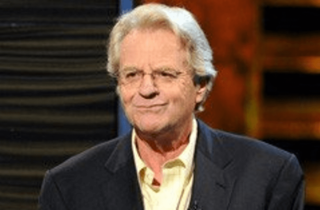 an analysis of the jerry springer show regarding tension Syndicated talk-show staple the jerry springer show has ceased production of new episodes, a source confirms to tvline, and will only air pre-taped episodes and repeats when it moves to the cw this fall.