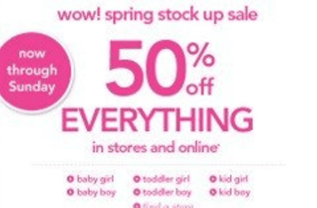 Sale At Carters Plus A Coupon For 20 Off Aol Finance