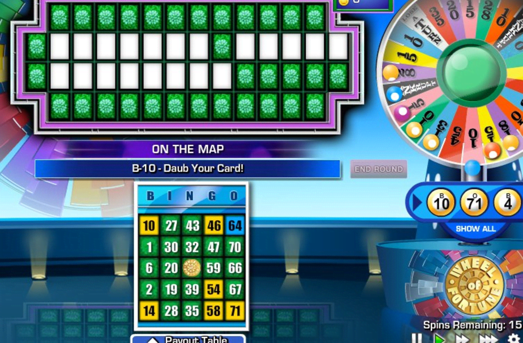 Solve puzzles and cover your boards in GSN's Wheel of ...