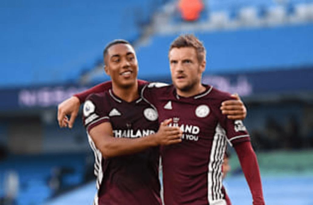 Leicester midfielder Youri Tielemans celebrates 'very ...