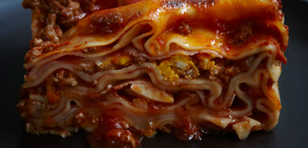 Quick calabrian lasagna aol food i do realize that a dish that needs an hour in the oven might not at first glance seem to qualify for the epithet quick but im not trying to pull a forumfinder Image collections