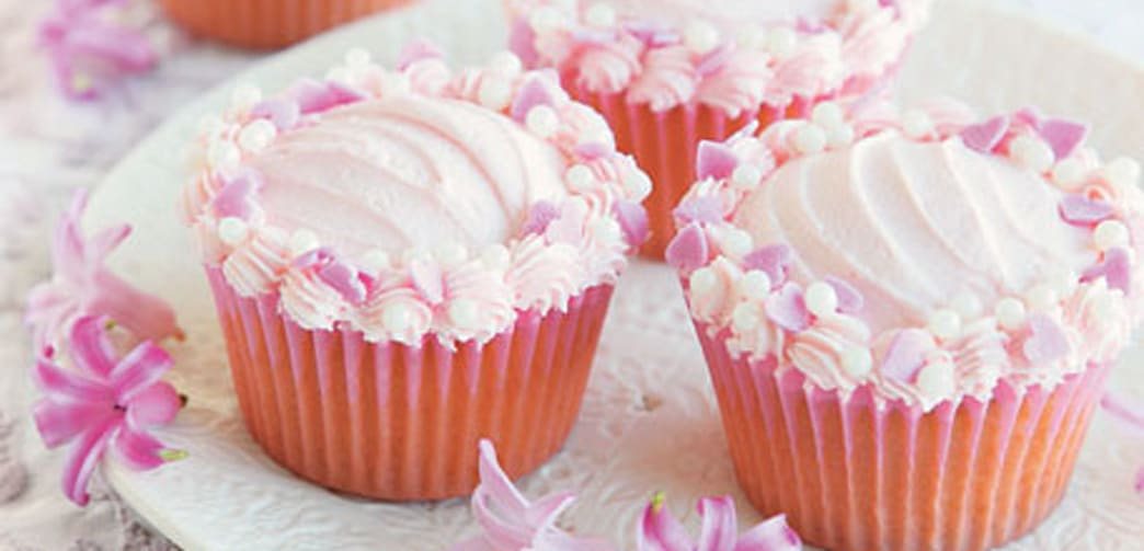 Pink And Pretty Cupcakes