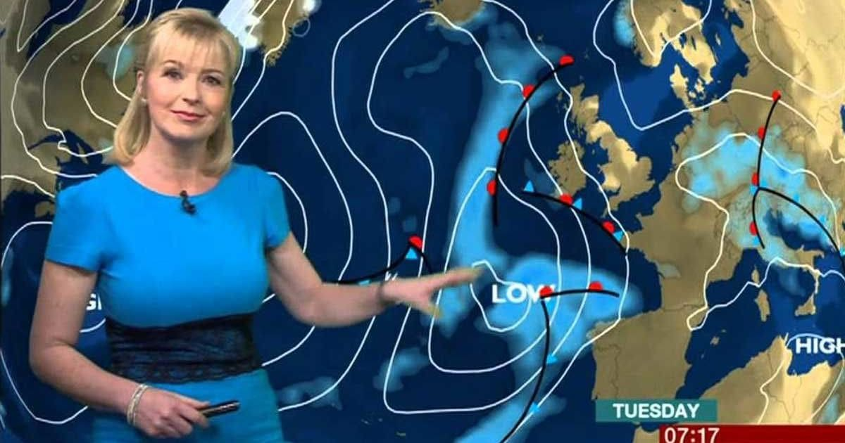 Bbc weather drops met office as forecast provider leaving - Www met office weather forecast ...