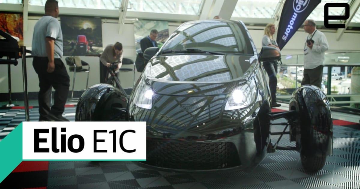 Elio E1C: First Look