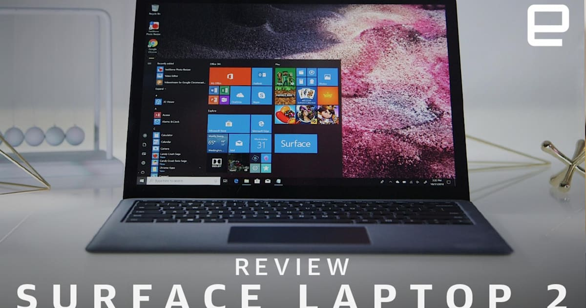 surface laptop 2 review