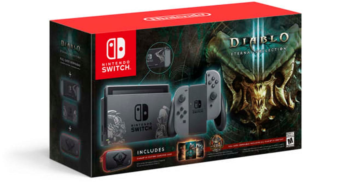 Nintendo is Making an Artwork-clad 'Diablo III' Switch