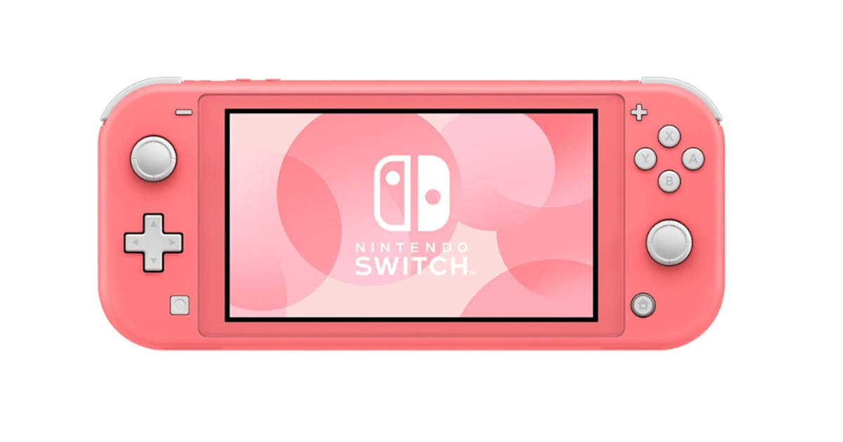 Nintendo unveils a coral-colored Switch Lite