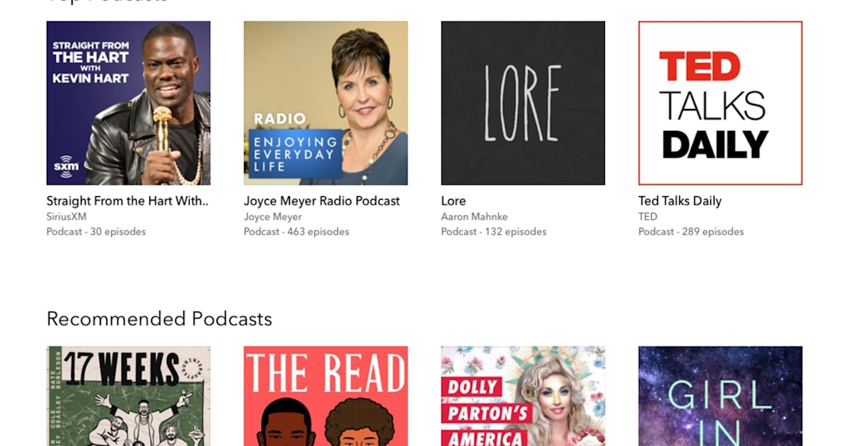 Pandora adds podcasts to its web player and desktop app 1