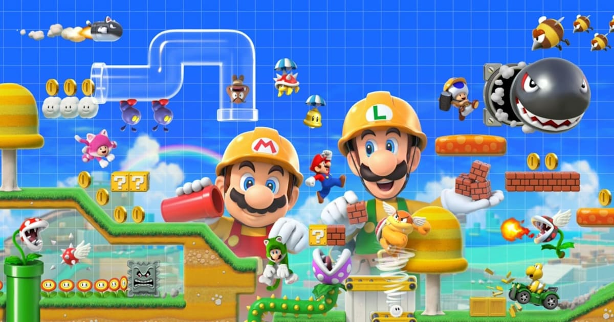 Watch the 'Super Mario Maker 2' Nintendo Direct here