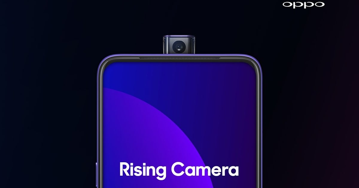 Oppo's F11 Pro features 48-megapixel and pop-up selfie cameras